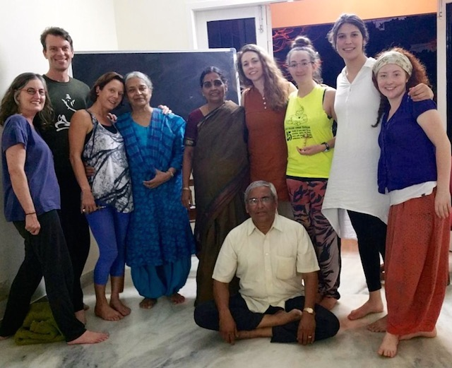 Yoga Therapy Students in India